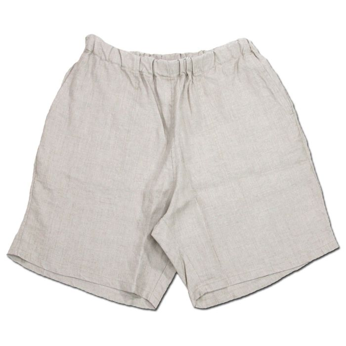 Phatee - KRABI SHORTS LINEN / NATURAL画像