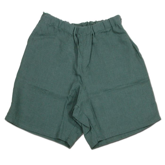 Phatee - KRABI SHORTS LINEN / JUNGLEの画像