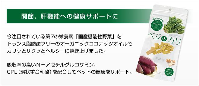 ベジカリ「関節・肝機能への健康サポート」40gの画像