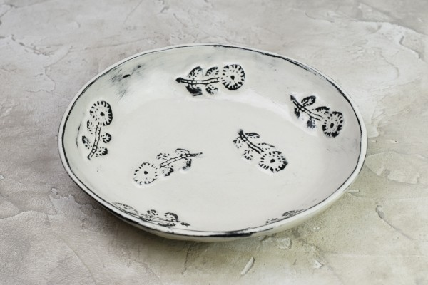 デイジーオーバル深皿(長浜由起子)画像