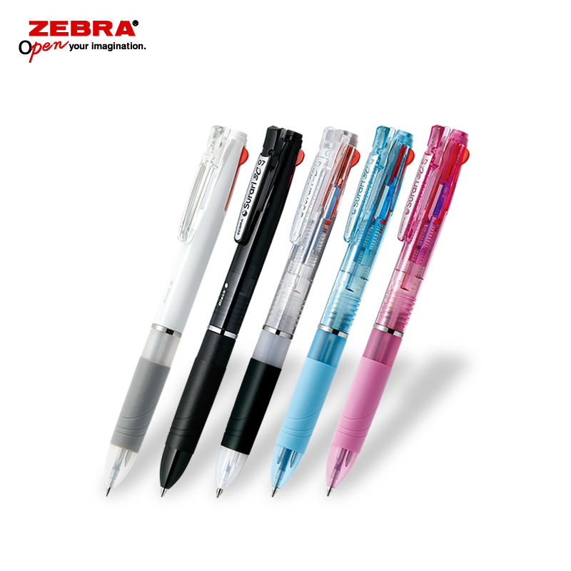ゼブラ スラリ3C 0.7 3色ボールペン フルカラー印刷画像