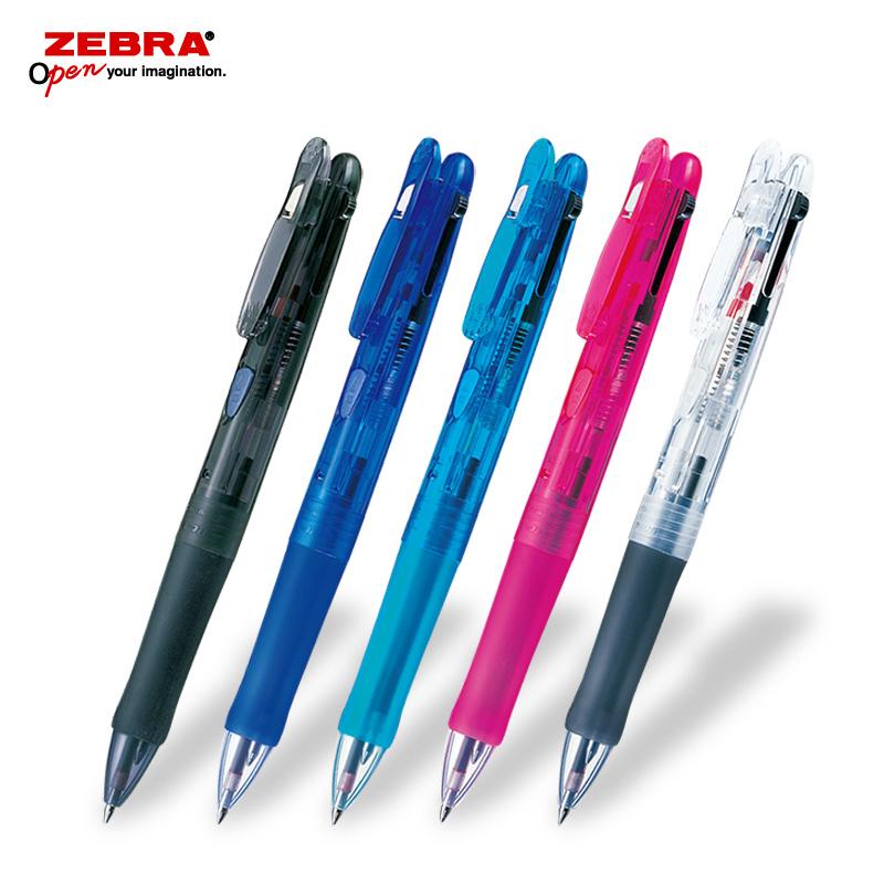 ゼブラ クリップオンG 2C 2色ボールペン フルカラー印刷画像