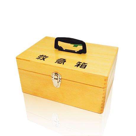 マイスコ木製救急箱画像