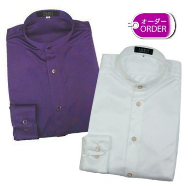 RIS レオタードシャツ(国産) スタンドカラー・スムース素材(大人用)【オーダー】画像