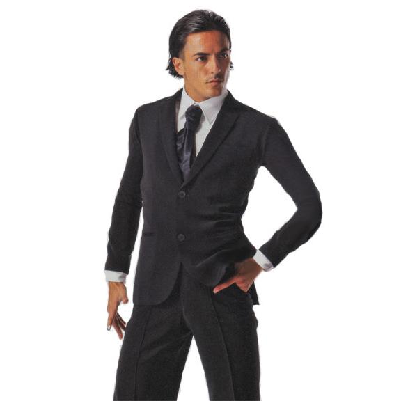 タカダンス メンズ ラテンモダン兼用 ジャケット  MJ13 ブラック画像