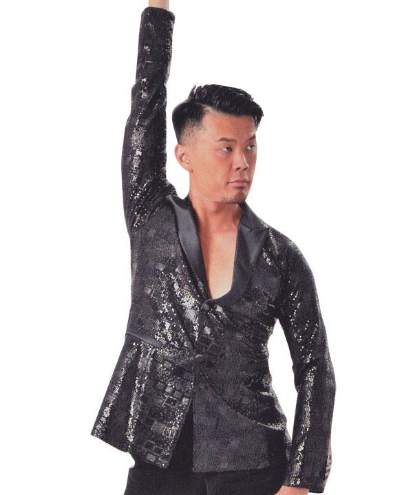 タカダンス メンズ  ラテンシャツ・ジャケット  MS314画像