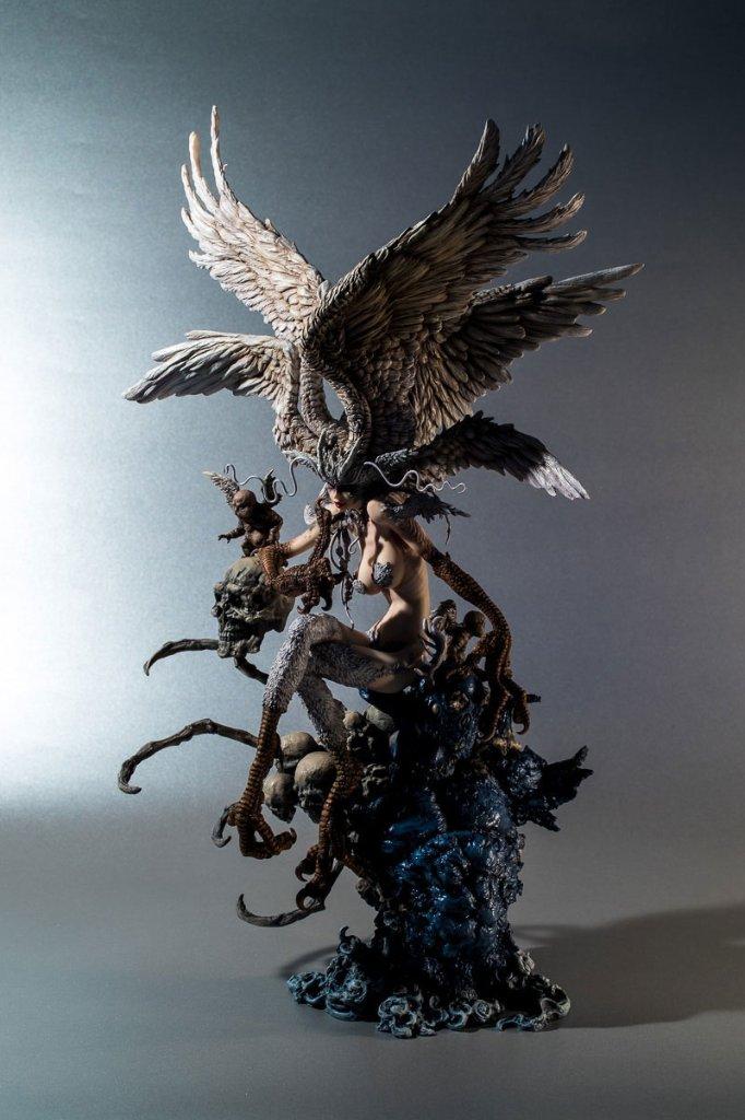 寺田克也版 妖鳥シレーヌ (塗装済み完成品)の画像