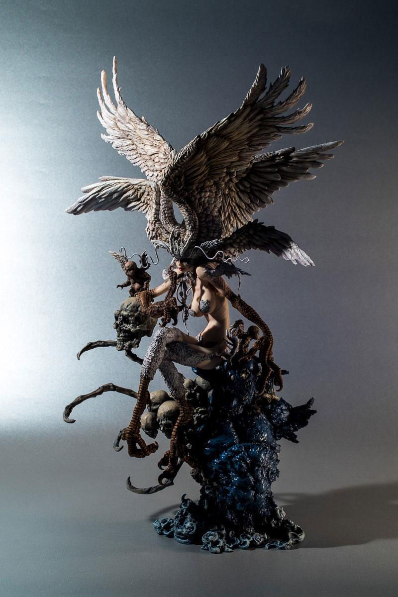 寺田克也版 妖鳥シレーヌ (塗装済み完成品)画像