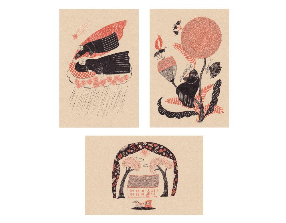 杉本さなえ / ポストカード3枚セット (A)画像
