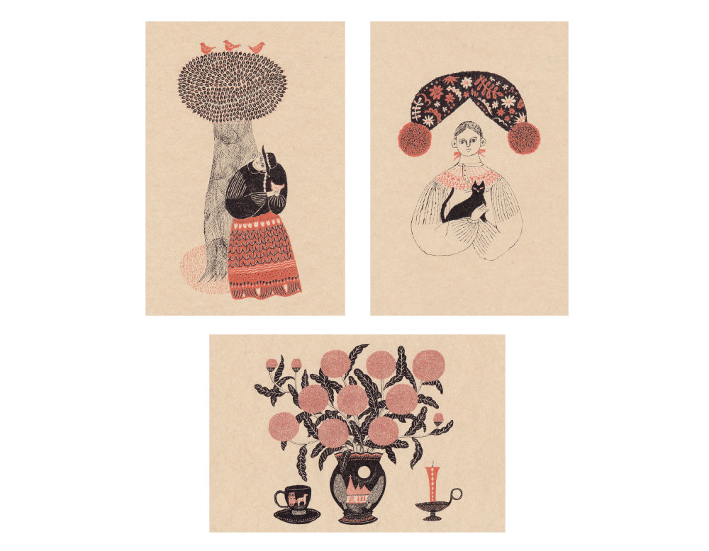 杉本さなえ / ポストカード3枚セット (B)画像