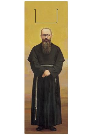 クリアしおり・聖コルベ神父の画像