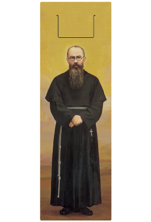 クリアしおり・聖コルベ神父画像