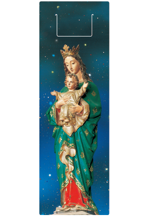 クリアしおり・信徒発見の聖母画像