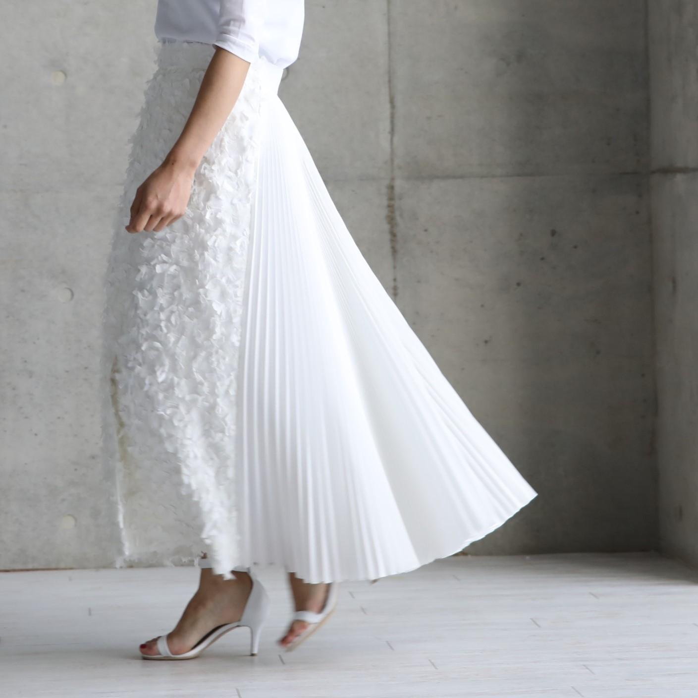 Vivienne feather white画像