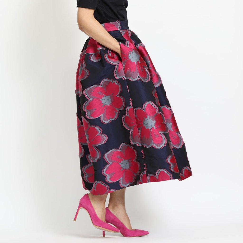 Anna big flower pink(全3色)の画像