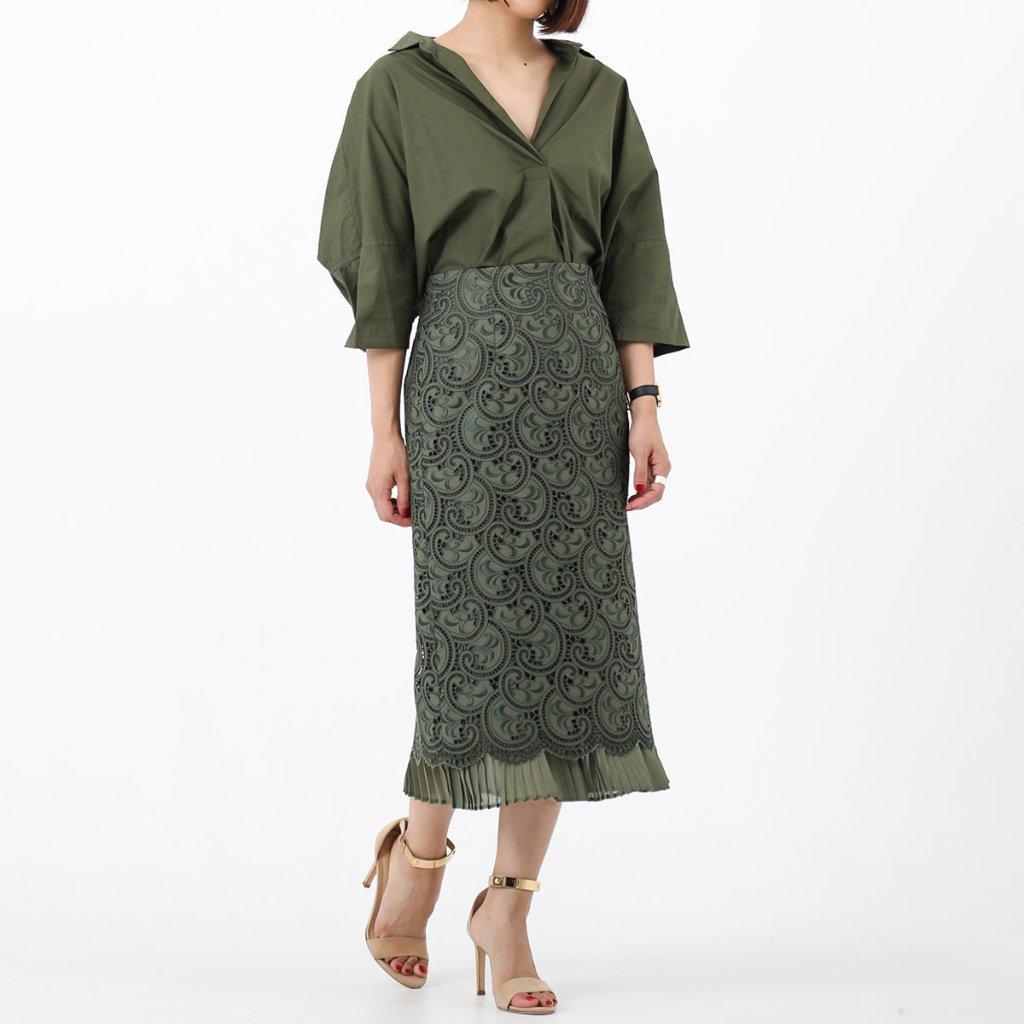 Kate lace khaki(全3色)の画像
