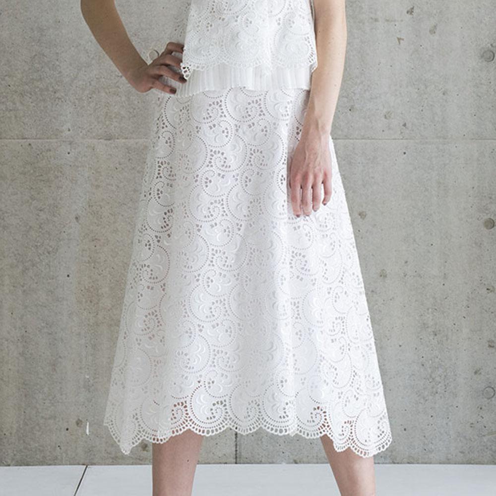 Lauren lace white画像