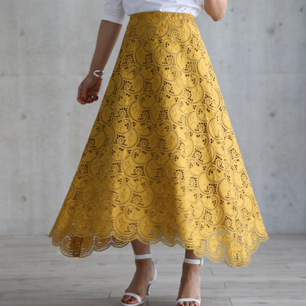 Lauren lace yellow(全4色)の画像
