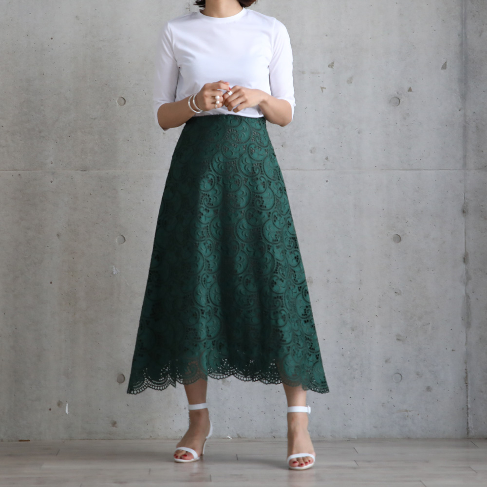 Lauren lace green(全4色)画像