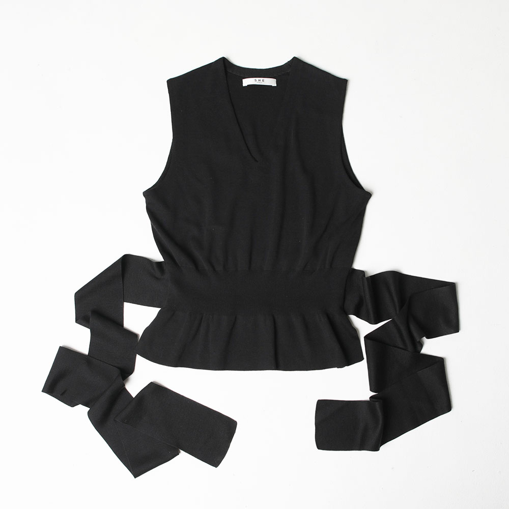 MIa-V neck black(全4色)の画像