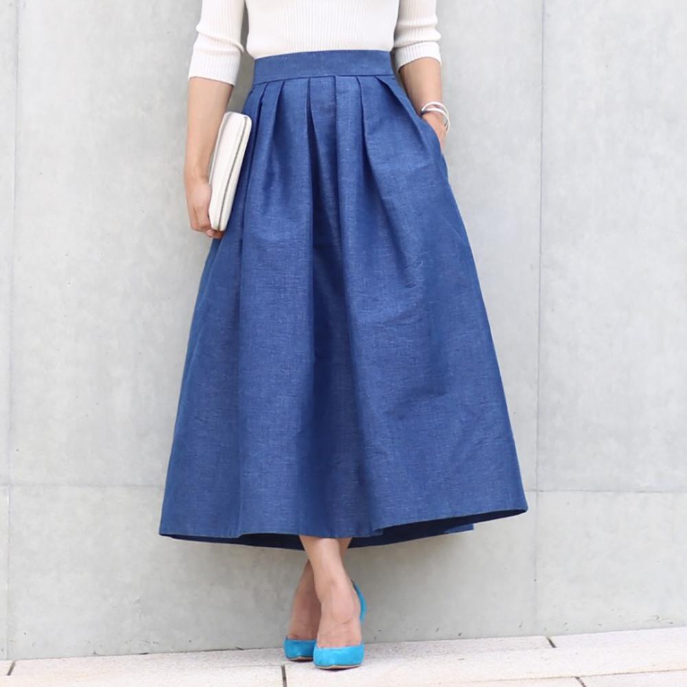 Anna denim blue(全2色)画像