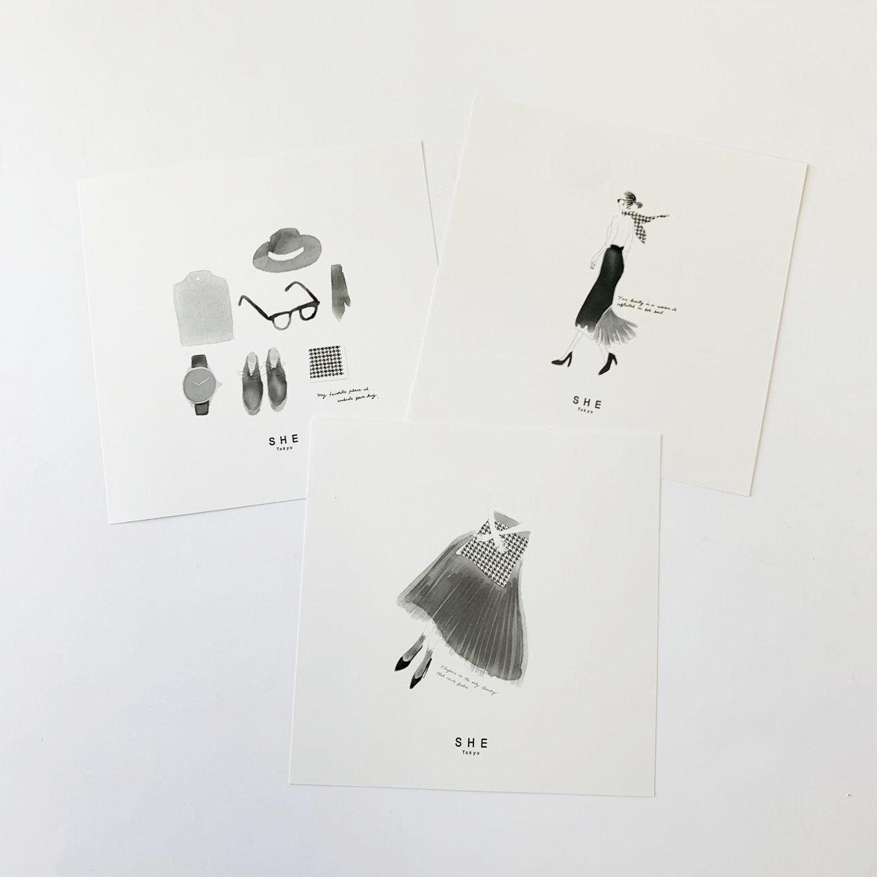 message card画像