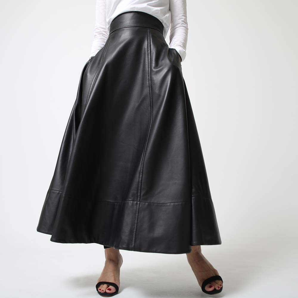 Eva leather Black画像