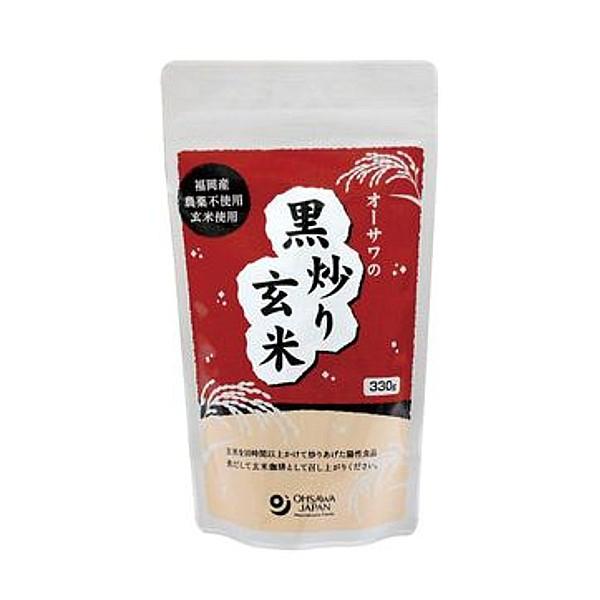オーサワの黒炒り玄米 【煮出しタイプ】 330g画像