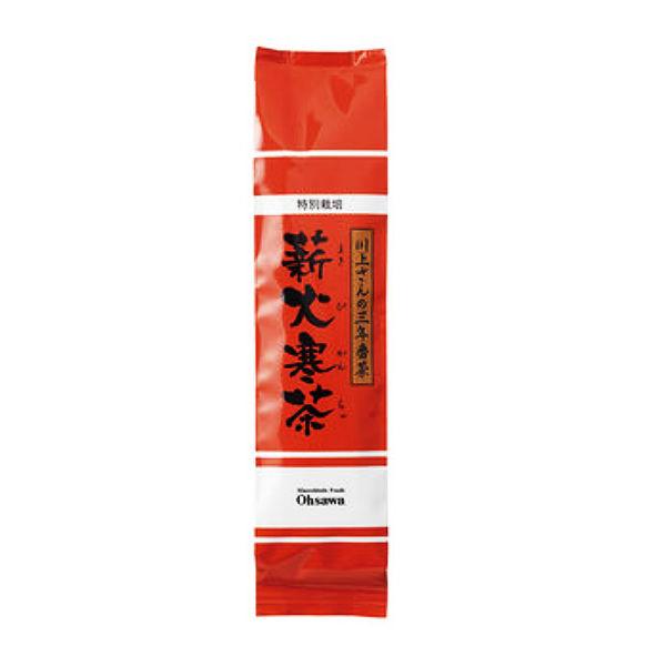 川上さんの三年番茶 薪火寒茶(120g)画像