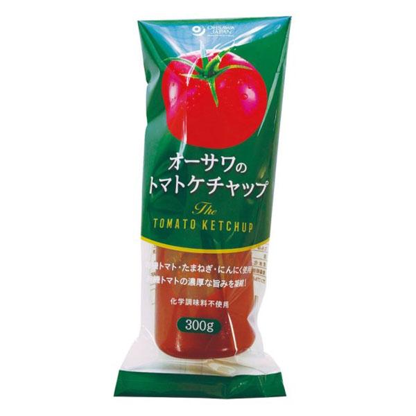 【添加物・砂糖不使用】オーサワのトマトケチャップ チューブ入り(300g)画像