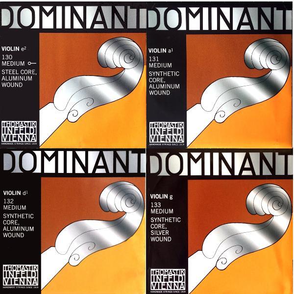 ドミナント     バイオリン     4弦セット    【42%OFF】の画像