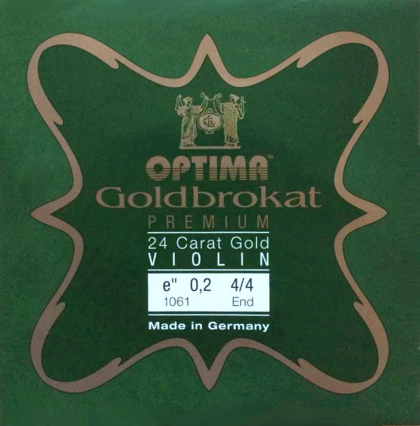 ゴールドブロカット プレミアム E バイオリン【42%OFF】の画像