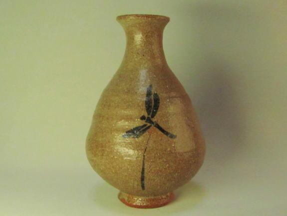 唐津徳利(蜻蛉)桐箱付き画像