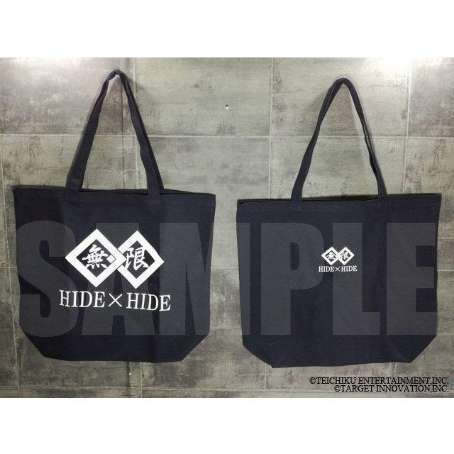 『無限』ロゴ入りトートバッグ/HIDE×HIDEの画像