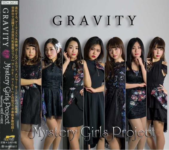 【10%OFF】CD 『GRAVITY』/Mystery Girls Project feat. HIDE×HIDE画像