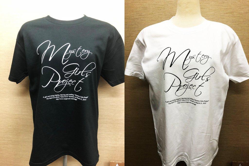 『GRAVITY発売記念Tシャツ』/Mystery Girls Projectの画像