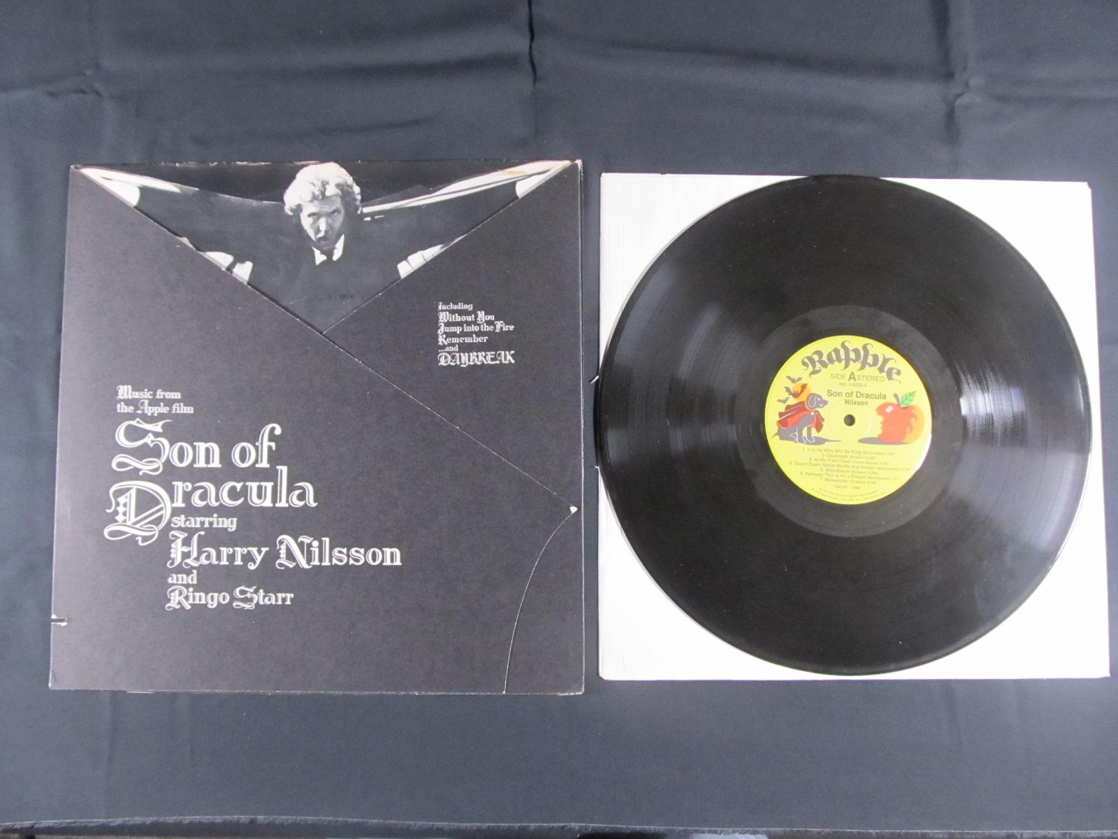 中古LP Harry Nilson and Ringo Starr『Son of Dracula』/ハリーニルソンandリンゴ・スター『Son Of Dracula』画像