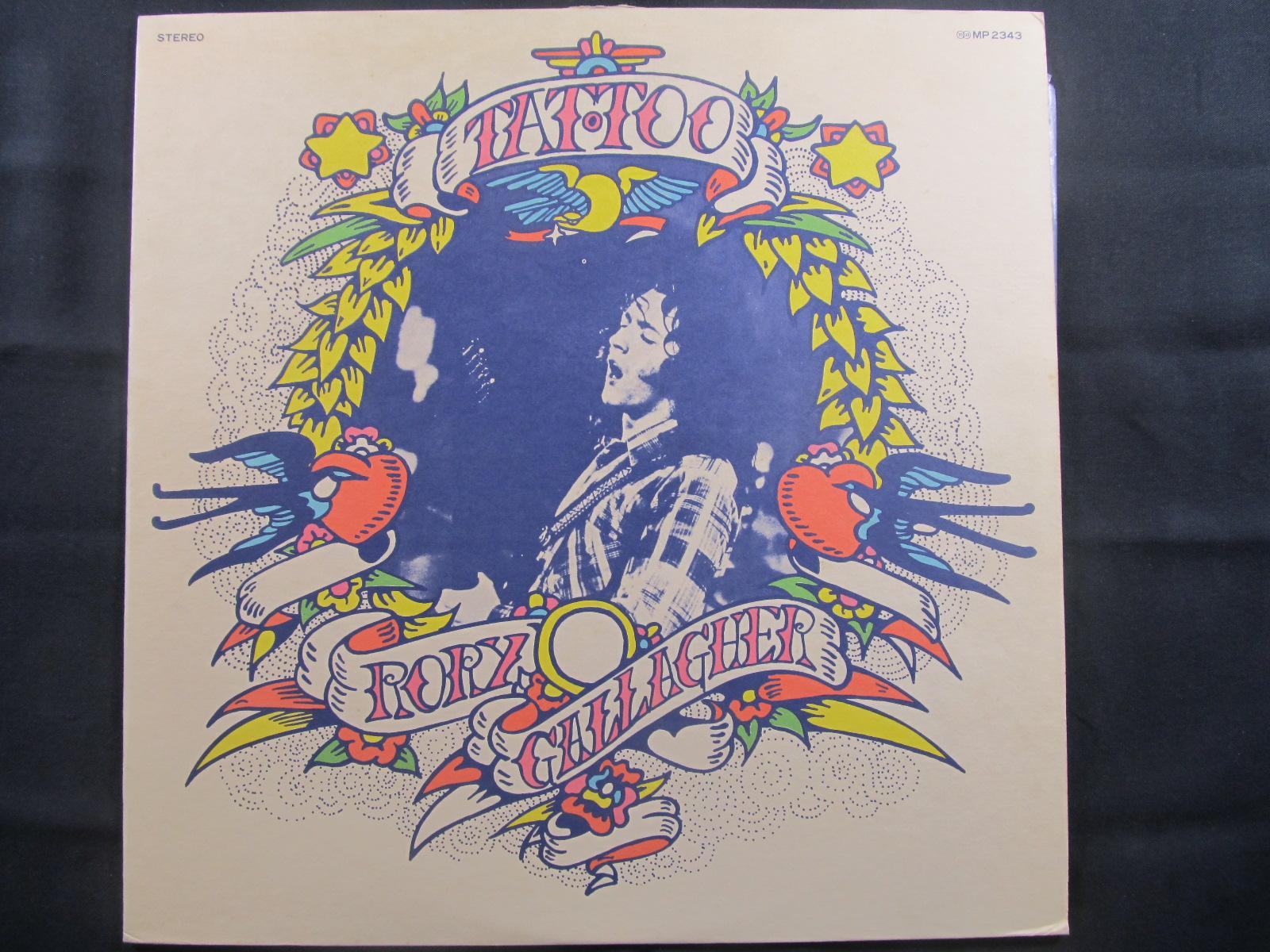 中古LP RORRY GALLAGHER『TATOO』/ロリー・ギャラガー 『タトゥー』画像