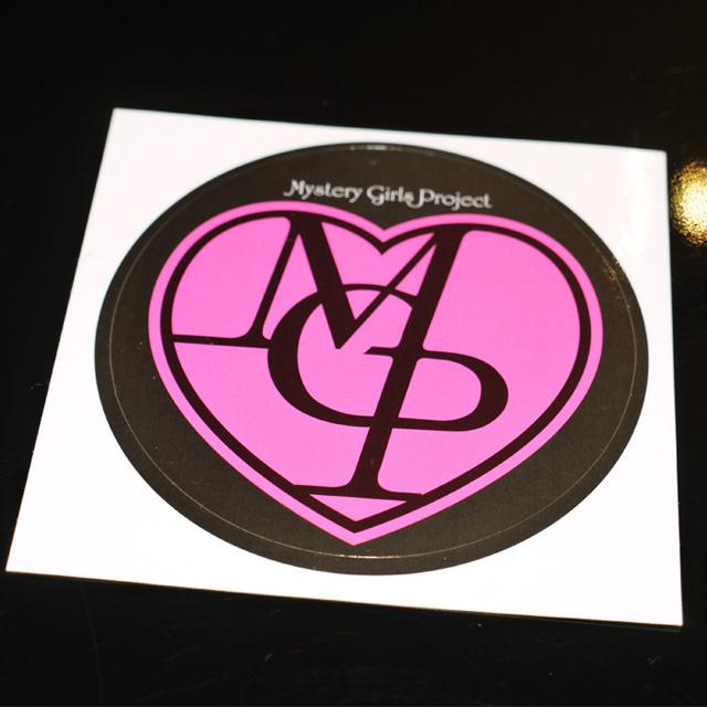 ロゴステッカー(5枚セット)/Mystery Girls Projectの画像