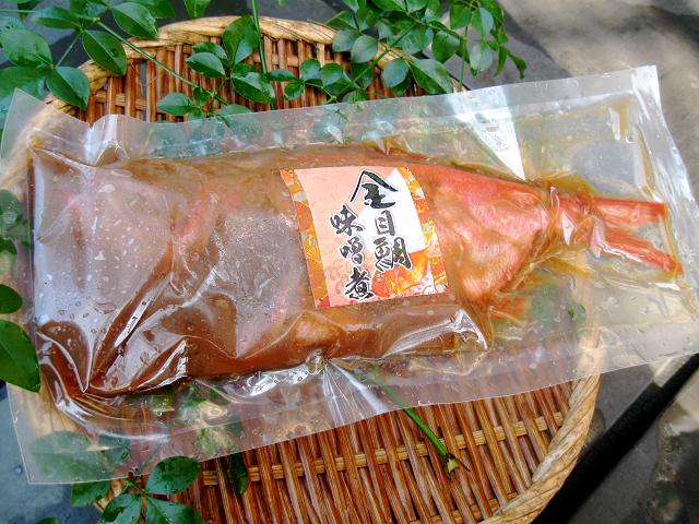 金目鯛味噌煮画像