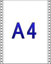 A4連続紙イメージ図