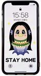 iphoneロック中画面の可愛いアマビエさん