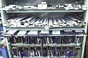 ヨコミシン棚