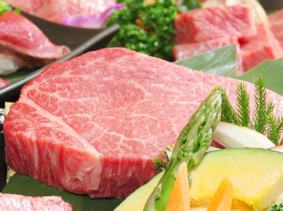 ヒレステーキは米沢牛!厚切りカットでワンランク上のお肉をお召し上がりください画像
