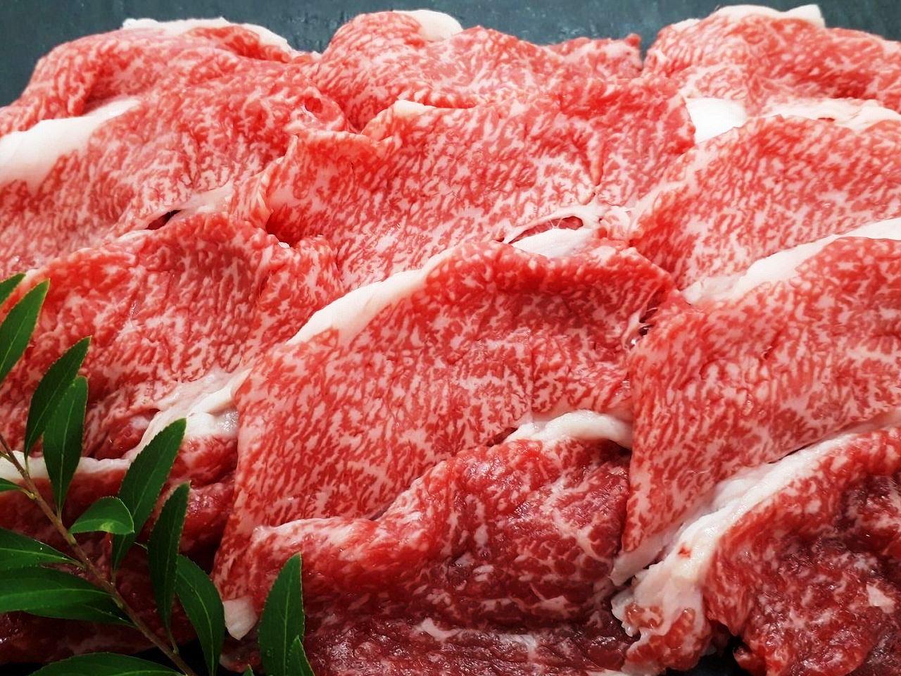 米沢牛の切り落し。大判仕様で色々な料理にお使いいただけます!画像