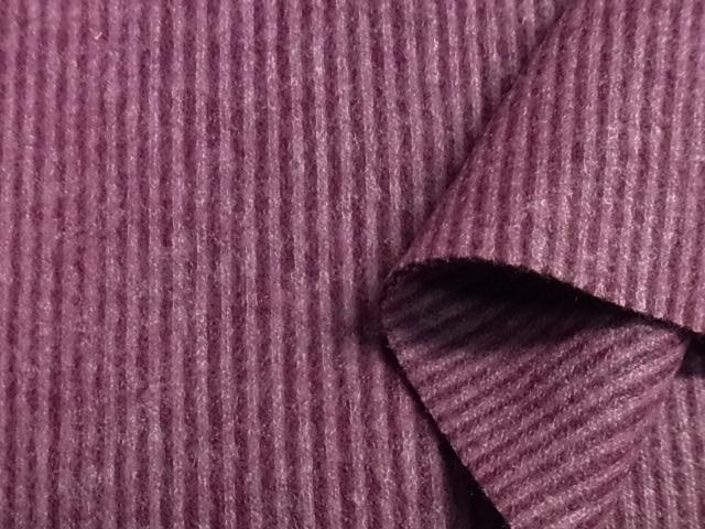 スムース コードレーン 表起毛 ニット生地 小巾 389の画像