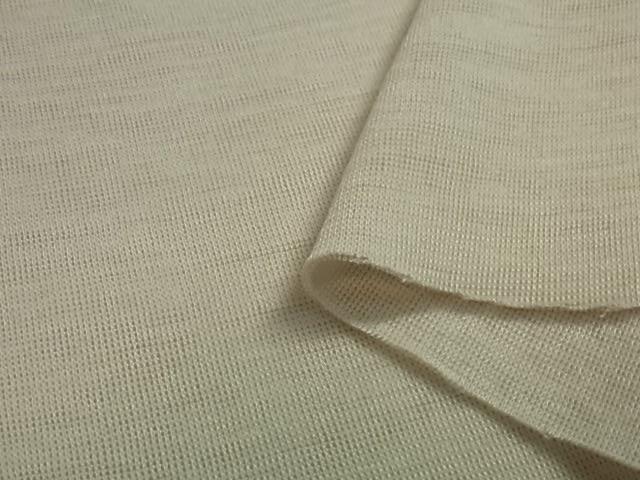 フライス ウール/綿 ニット生地  小巾 409の画像
