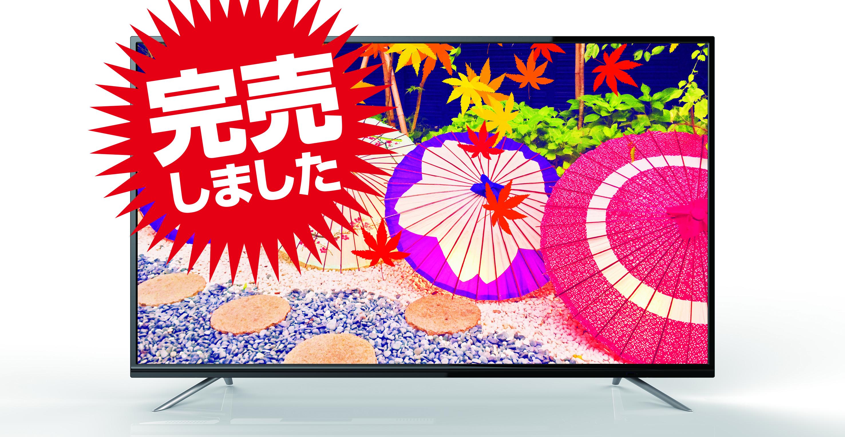地上・BS/CSデジタル 4K対応 液晶テレビ(49V型)LCK4903S ※5台限定画像