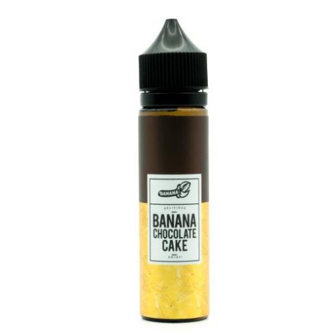 【BANANA CHOCOLATE CAKE】(60ml)BANANA PEEL画像