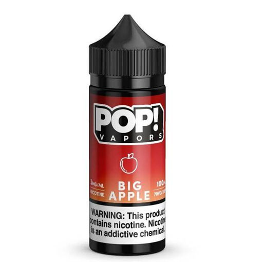 【BIG APPLE】(100ml)FRUIT POP!画像